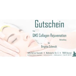 Behandlungsgutschein QMS Collagen Rejuvenation