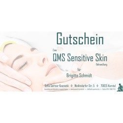 Behandlungsgutschein QMS Sensitive Skin