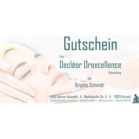 Behandlungsgutschein Decléor Orexcellence