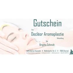Behandlungsgutschein Decléor Aromaplastie