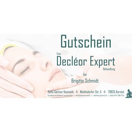 Behandlungsgutschein Decléor Expert