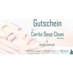 Behandlungsgutschein Carita Deep Clean
